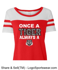 Vintage Once a Tiger Jersey - WOMENS Design Zoom