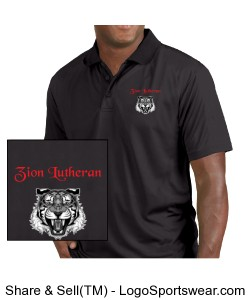 Zion Short Sleeve Polo - MENS Design Zoom