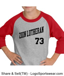 Zion Lutheran Raglan - YOUTH Design Zoom