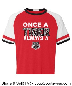 Vintage Once a Tiger Jersey - MENS Design Zoom