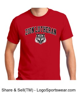 Zion Lutheran SS Red ADULT Design Zoom